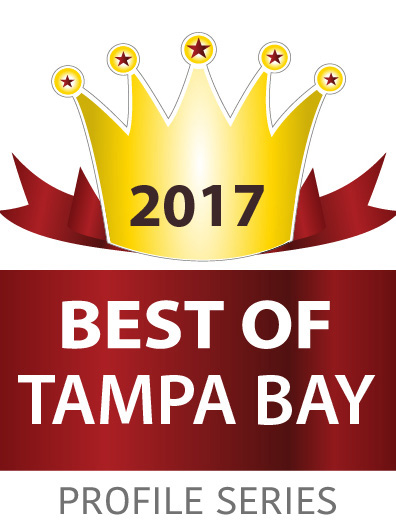 Best of Tampa Bay 2017 Award