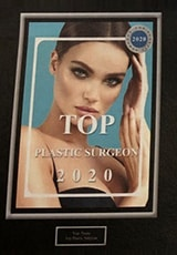 Top Plastic Surgeon 2020
